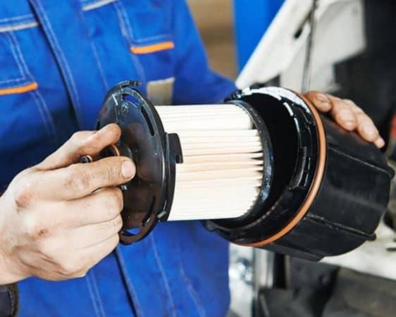 Замена масляного фильтра