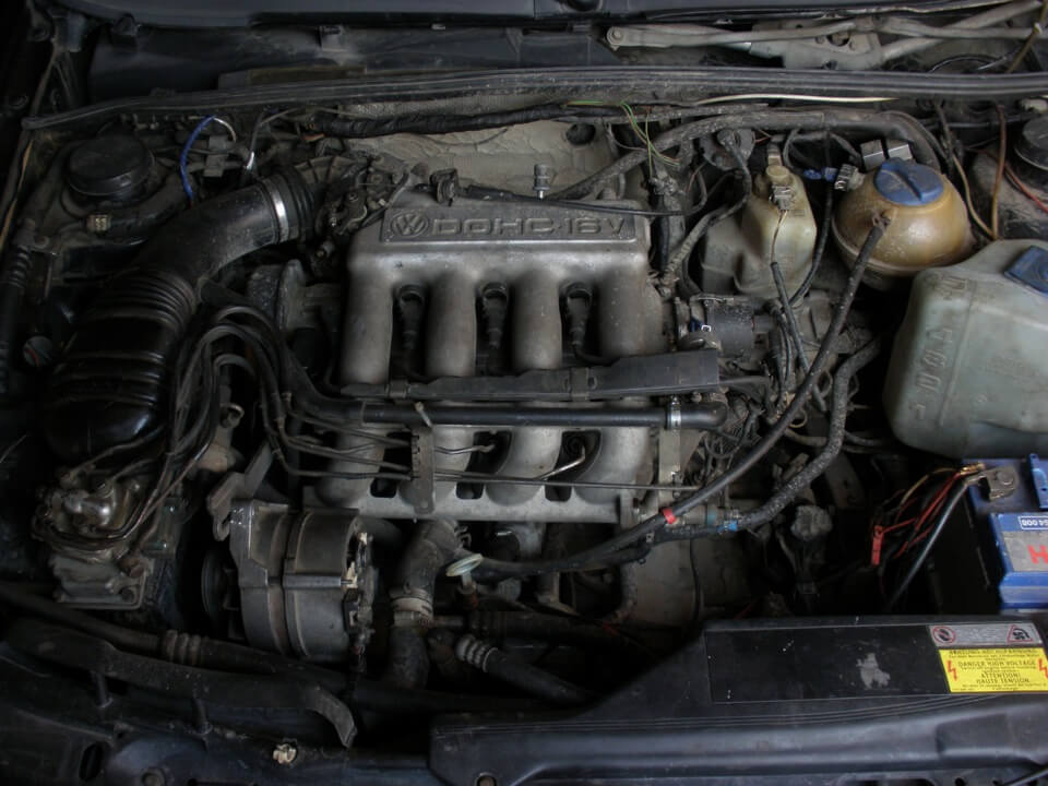 Замена ремня ГРМ на двигателе 9А в Фольксваген Пассат Б3