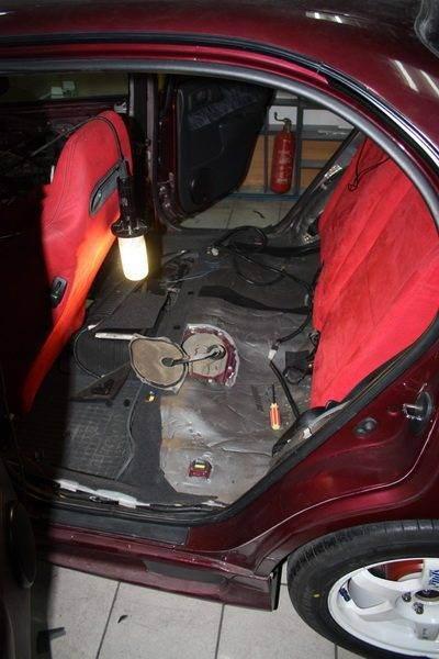 Замена топливного бака Toyota Carina E